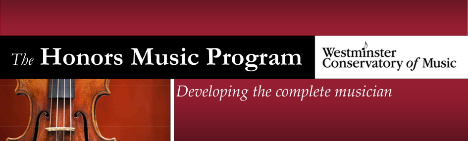The Honors Music Program